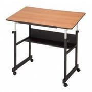 Alvin and Co. Minimaster II Drafting Table; Black Woodgrain by