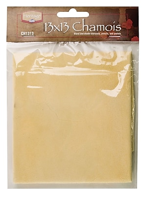 Alvin and Co. Chamois; 13'' W x 13'' D