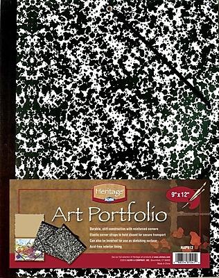 Alvin and Co. Art Portfolio; 9'' H x 12'' W