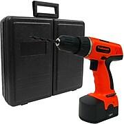 Stalwart 78-Piece 18 V Cordless Drill Set, 0.8 - 10mm (Dia) Capacity (844296060306)