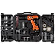 "Stalwart™ 89 Piece 18 V Cordless Drill Set, 3/8"" (Dia) Capacity"