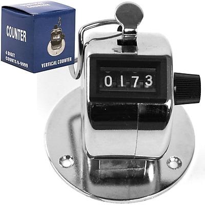 Stalwart™ Handheld/Base Mount Hawk Tally Counter Clicker