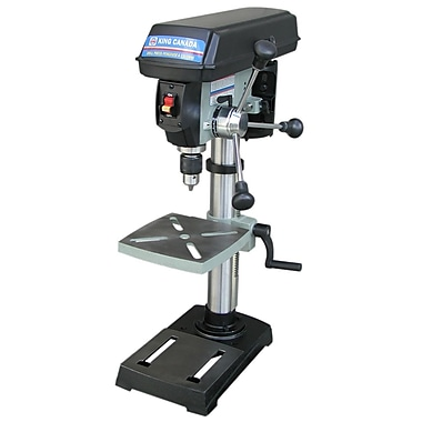 King Canada Bench Model Drill Press with Laser Guide System, 10