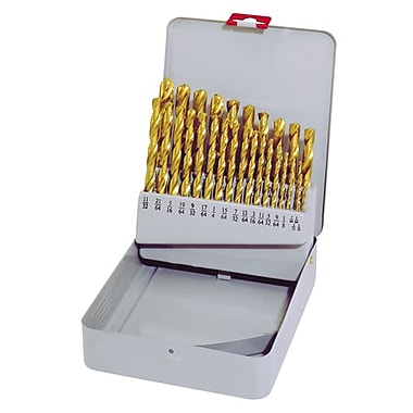 King Canada 29-Piece Titanium Drill Bit Set