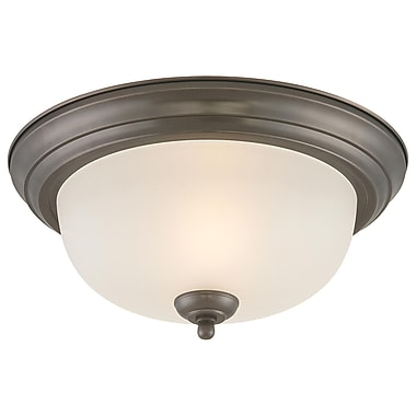 Thomas Lighting None 1-Light Ceiling Light; 5.5'' H x 13.25'' W