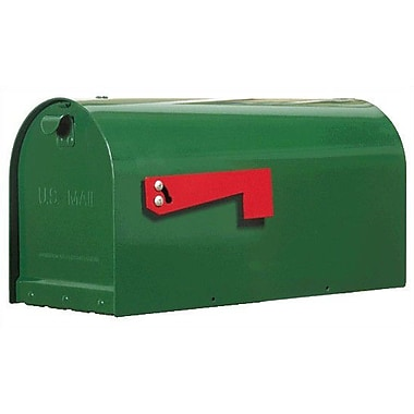 Special Lite Products Titan Post Mounted Mailbox; Verde Green
