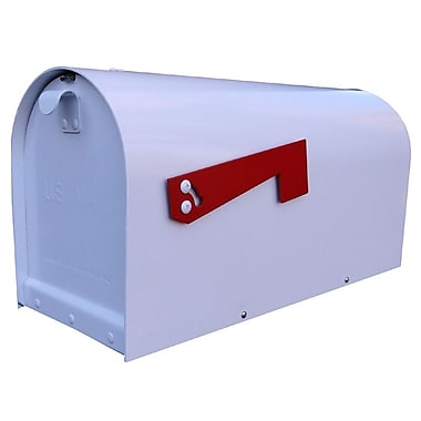 Special Lite Products Titan Post Mounted Mailbox; White