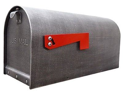 Special Lite Products Titan Post Mounted Mailbox; Swedish Silver