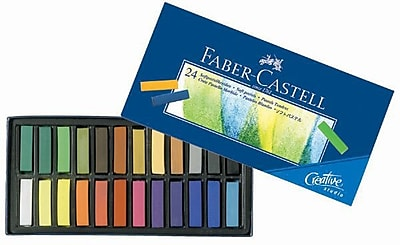 Faber- Castell Creative Studio Soft Pastels (Set of 24) WYF078276452240