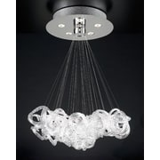 PLC Lighting Elegance 5-Light Pendant; 28''