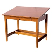 Alvin and Co. Vanguard Wood Drafting Table by