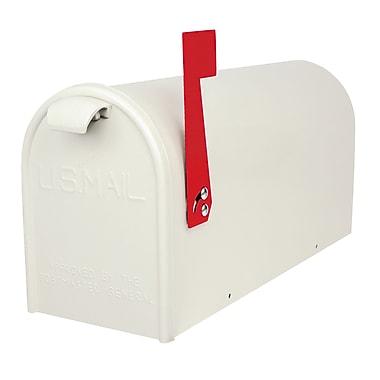 GDM Mailbox Company Newport Post Mounted Mailbox; White