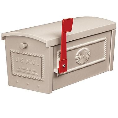 Salsbury Industries Post Mounted Mailbox; Beige