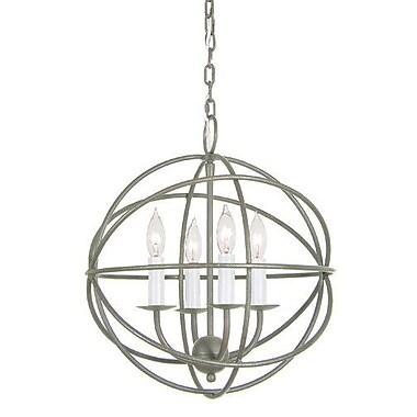 JVI Designs Globe 4-Light Globe Pendant
