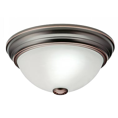Lithonia Lighting Sheffield Small 2-Light Flush Mount