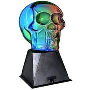Creative Motion Plasma Skull 9.4'' Table Lamp