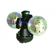 Creative Motion Twin Mirror Ball Lamp
