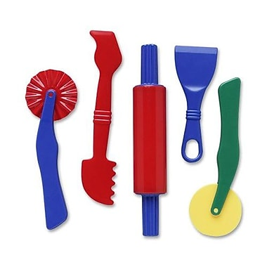 Chenille Kraft Clay Dough Tools Set, 5 Piece, Assorted Colors