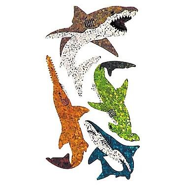 Jillson & Roberts Prismatic Bulk Roll Shark and Sawfish Sticker