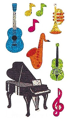 Jillson & Roberts Prismatic Bulk Roll Musical Instrument Sticker