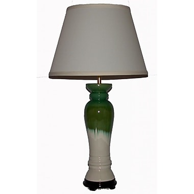 Lamp Factory Column Table Lamp; 28'' H