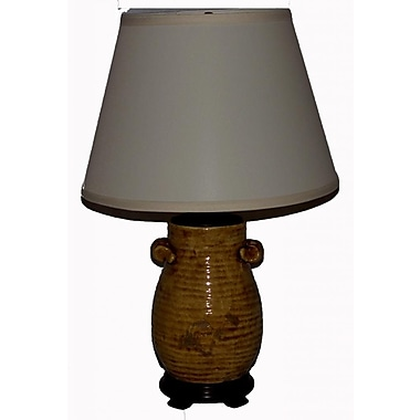 Lamp Factory Handcrafted Glaze 24'' Table Lamp