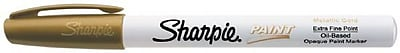 Sharpie Extra Fine Point Paint Marker; Gold