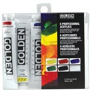 Golden Artist Colors 6 Piece Acrylic Introductory Set