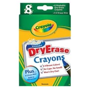 Crayola Washable Dry Erase Crayon Set