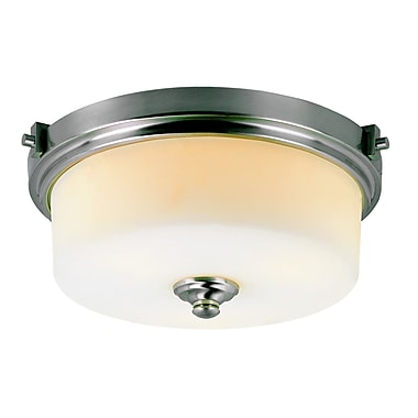 TransGlobe Lighting Young and Hip Flush Mount; 16.5'' Width