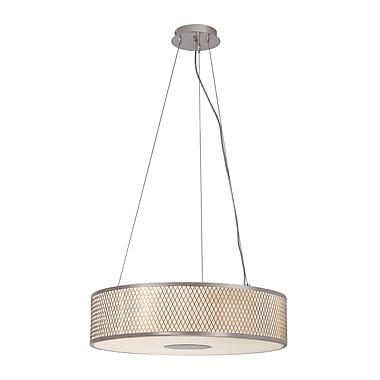 TransGlobe Lighting Diamond Grill 4-Light Pendant