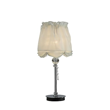 OK Lighting 24'' H Table Lamp with Empire Shade