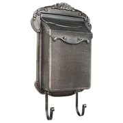 Special Lite Products Victoria Wall Mounted Mailbox; Swedish Silver
