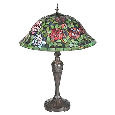Meyda Tiffany Tiffany Rosebush 28'' Table Lamp