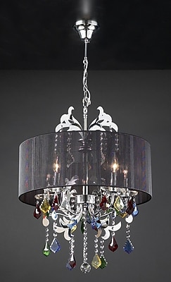 PLC Lighting Torcello 5-Light Drum Pendant