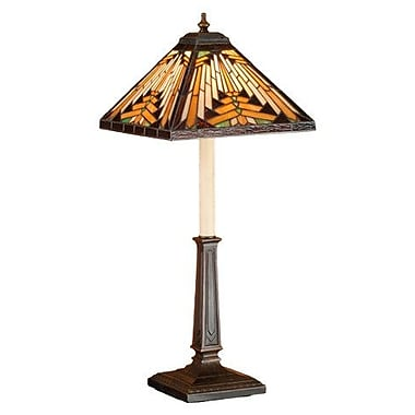 Meyda Tiffany Nuevo Mission Buffet 24.5'' Table Lamp