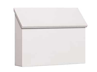 Salsbury Industries Wall Mounted Mailbox; White
