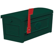 Salsbury Industries Post Mounted Mailbox; Green