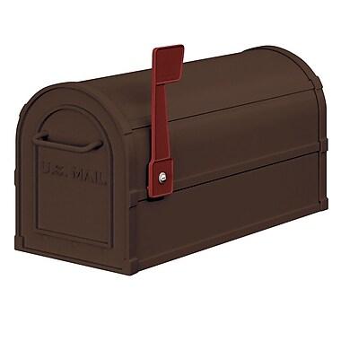 Salsbury Industries Post Mounted Mailbox; Bronze