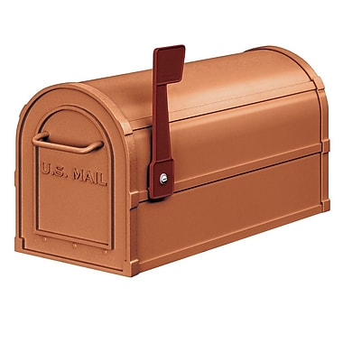 Salsbury Industries Post Mounted Mailbox; Copper