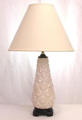 Lamp Factory Contempo 28'' Table Lamp; Off White