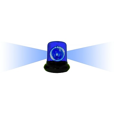 Creative Motion Electrical Police Beacon Light w/ Color Option; Blue