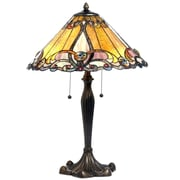 Chloe Lighting Victorian 26'' Table Lamp; Amber
