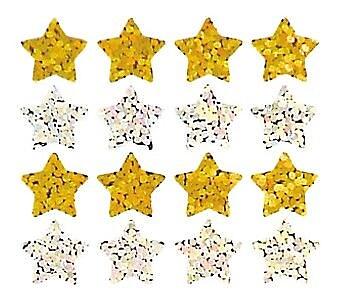 Jillson & Roberts Prismatic Bulk Roll Micro Star Sticker