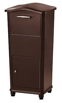 Architectural Mailboxes Elephantrunk 2 Unit Parcel Locker; Oil Rubbed Bronze