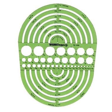 RAPID Circle Radius Master Template