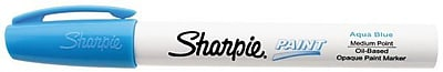 Sharpie Medium Point Paint Marker; Aqua