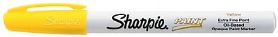 Sharpie Extra Fine Point Paint Marker; Yellow