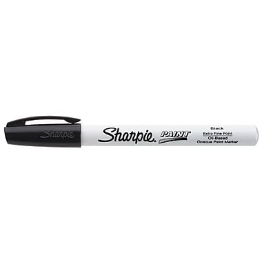 Sharpie Extra Fine Point Paint Marker; Black