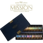 Weber Art 34 Piece Mijello Mission Gold Class 15ml Watercolor Set